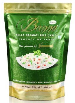 Рис басмати Sella Basmati Rice xxl, Banno