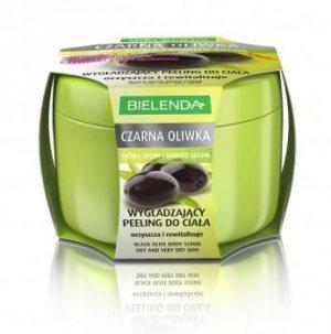Разглаживающий пилинг для тела Черная оливка, Bielenda