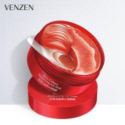 Гидрогелевые патчи под глаза с экстрактом бурых водорослей (Ruby Collagen Hydrating), Venzen