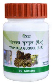 Трифала гуггул (Triphala Guggul), Patanjali