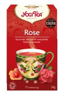 Аюрведический йога чай Rose, Yogi tea