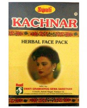Аюрведическая травяная маска для лица Kachnar, Swati