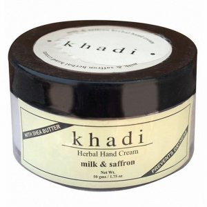 Аюрведический крем для рук Молоко и Шафран, Khadi