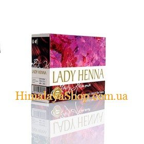 Краска для волос на основе хны Lady Henna, Бургунд