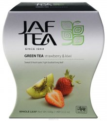 Чай Jaf Tea Green Tea Strawberry&Kiwi