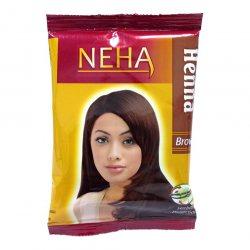 Хна для волос Коричневая, Neha