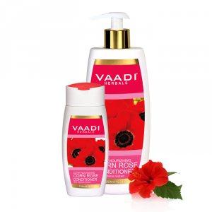 Питательный кондиционер для волос Мак и Гибискус, Vaadi Herbals