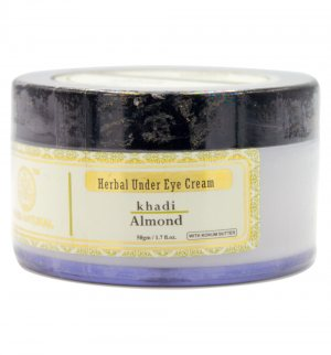 Крем под глаза с маслом Миндаля (Almond herbal under eye cream), Khadi