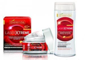 Подарочный набор омолаживающей косметики Laser Xtreme, Bielenda