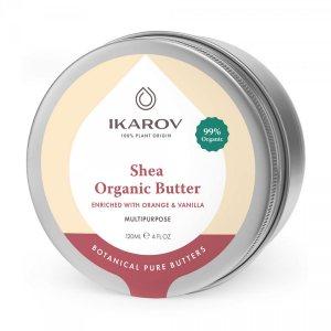 Органическое масло Ши с апельсином и ванилью (Shea Organic Butter Enriched with Orange & Vanilla), Ikarov