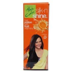 «Силк-н-Шайн» нежирное масло для легкого расчесывания волос, Marico
