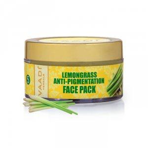 Маска для лица против пигментации Лемонграсс, Vaadi Herbals