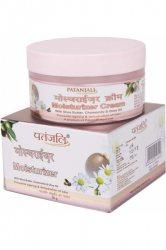 Увлажняющий крем для лица с оливой, маслом ши и ромашкой, Patanjali