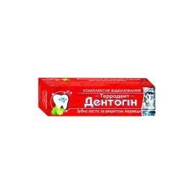 Аюрведическая отбеливающая зубная паста Terrodent, Дентогин