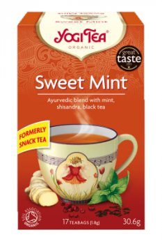 Аюрведический йога чай Sweet Mint, Yogi Tea