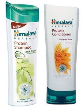Шампунь и кондиционер с протеинами Мягкость и Блеск, Himalaya Herbals