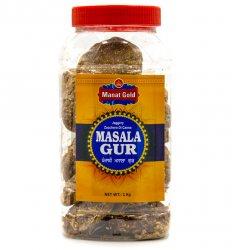 Тростниковый сахар Масала Гур (Can sugar Masala Gur), Manat Gold