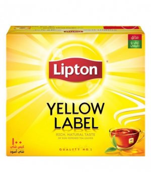 Чай липтон Yellow Label 100 пак, Lipton