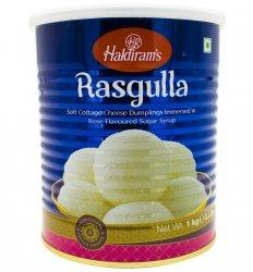 Индийский творожный десерт Расгула (Rasgulla), Haldiram's