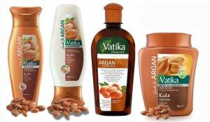 """Подарочный набор для сухих волос """"Аргановый"""", Vatika Dabur"""