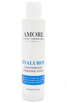 Концентрированный увлажняющий гель-тонер с гиалуроновой кислотой и алоэ, AMORE