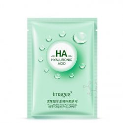 Тканевая маска для лица увлажняющая c Алоэ Вера (Hydrating Mask Green) (XXM1196), Images