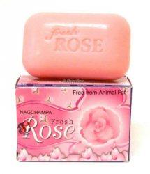 Мыло розовое FRESH ROSE, SATYA