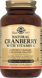 Клюква натуральная с витамином С (Natural Cranberry With Vitamin C), Solgar