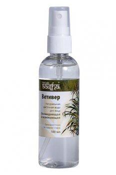 Натуральная цветочная вода освежающая и охлаждающая Ветивер, Aasha Herbals