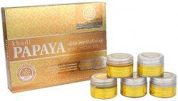 Подарочный набор для лица 5 в 1 PAPAYA, Khadi