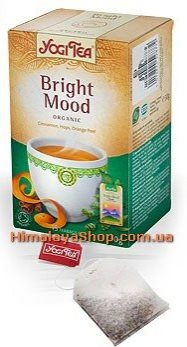 Аюрведический йога чай Bright Mood, Yogi tea
