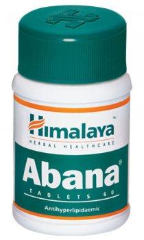 Абана (Abana), Himalaya Herbals 60 таблеток