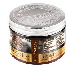 Маска для блеска волос с аргановым маслом Argan Shine, Organique