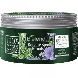 Масло бальзам для тела лён розмарин Botanic Spa Rituals, Bielenda