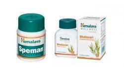 Спеман (Speman) и Шатавари (Shatavari), Himalaya Herbals