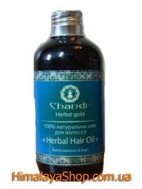Натуральное масло для волос Травяное, Chandi