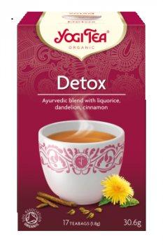 Аюрведический йога чай Detox, Yogi tea