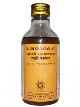 Аюрведическое масло Eladi Keratailam, Kottakkal