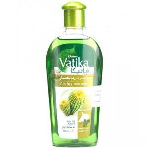 Масло от выпадения волос обогащенное кактусом, Vatika Dabur