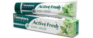 Освежающая зубная паста-гель Active Fresh, Himalaya Herbals