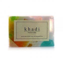Натуральное мыло ручной работы Фруктовый микс (Mix fruit soap), Khadi