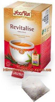 Аюрведический йога чай Revitalise, Yogi tea