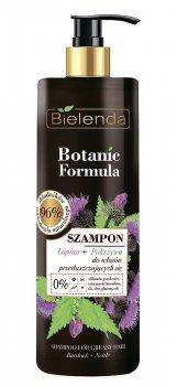 Шампунь для жирных волос крапива-лопух (Botanic Formula), Bielenda