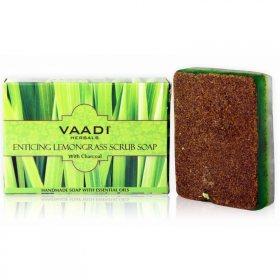 Натуральное СКРАБ-МЫЛО Манящая лимонная трава, Vaadi