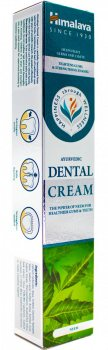 """Зубная паста """"Dental Cream"""" с нимом (Ayurvedic Dental Cream with neem), Himalaya Herbals"""