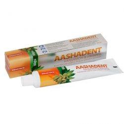 Зубная паста Кардамон и Имбирь АASHADENT, Aasha Herbals