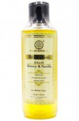 Шампунь для волос Мёд и Ваниль (Honey & Vanilla), Khadi