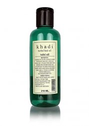 Травяное Масло для волос Тулси Кхади, Khadi