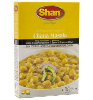 Чана масала (Chana masala), Shan