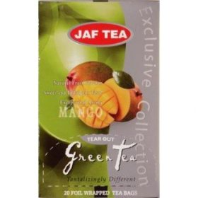 Чай Jaf Tea Green Tea Mango в пакетиках
